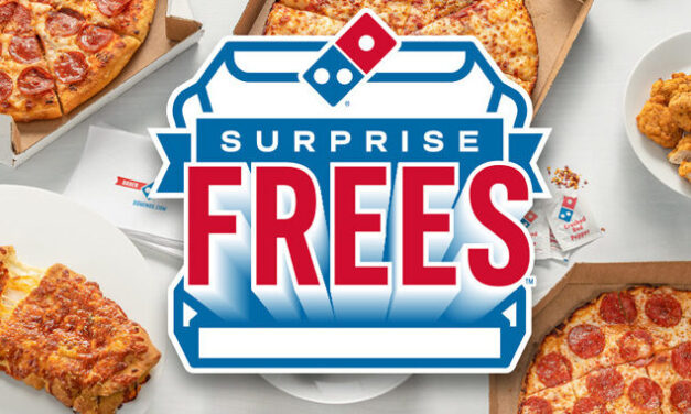 Domino's Delivers With Surprise Frees