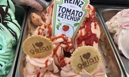 Heinze Ketchup Gelato Is A Real Thing
